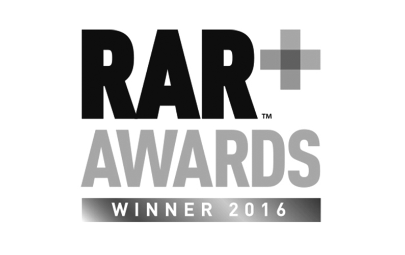 RAR Awards Winner 2016