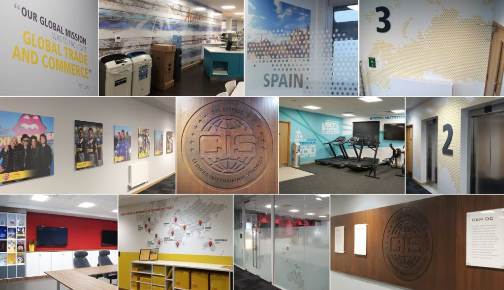 A thoughtfully designed office space, motivate, inspiring and representing employee culture creating a destination for employees